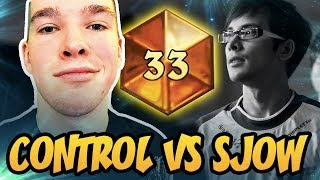 Control VS Sjow | Top 33 Legend | Token Druid 2018 | The Witchwood | Hearthstone