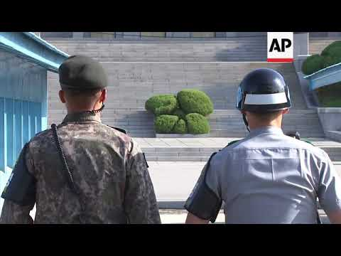 Situation calm in the Korean Demilitarized Zone