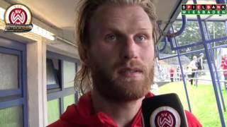 [SVWW] Nico Herzig nach dem Spiel gegen Elversberg [SV Wehen Wiesbaden]