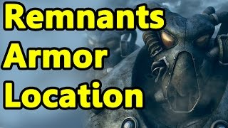Fallout New Vegas: How to get the Best Power Armor (Remnants Power Armor)