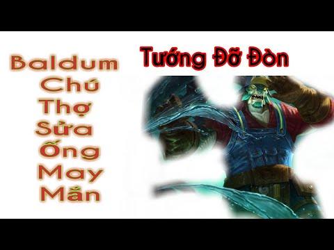 Thanh Kỳ TV | Baldum Chú Thợ Sửa Ống Nước May Mắn | Tướng Đỡ Đòn Baldum