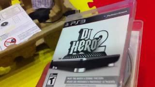 PS3 - DJ Hero 2 Bundle Unboxing!!