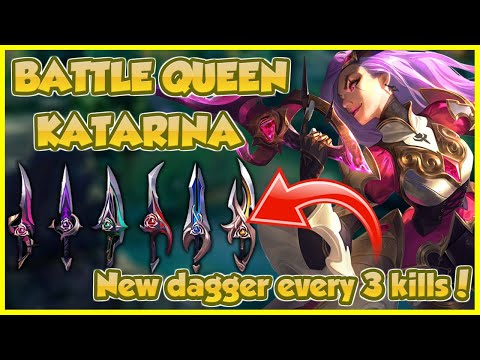 👑 BATTLE QUEEN KATARINA MIGHT AS WELL BE AN ULTIMATE SKIN (Seraphine's found dead) | Erick Dota