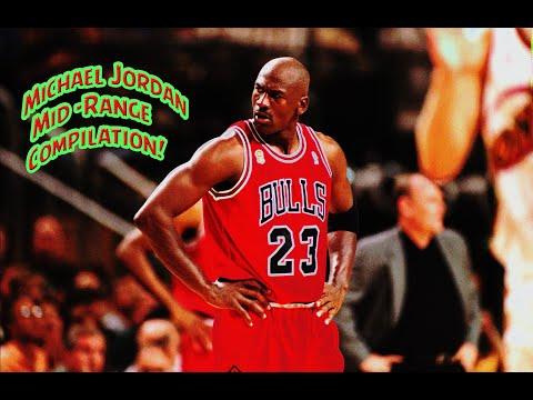 Michael Jordan Mid-Range Compilation (Part 1) NASTY Post-Game