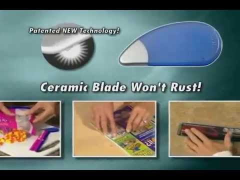 Blast From the Past : Slice Safety Cutter iSlice As Seen On TV Circa 2006