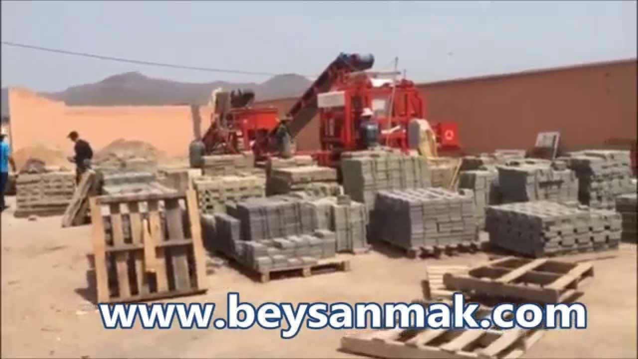 Machine parpaing b ton machine brique b ton qualit for Resistance parpaing