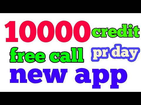 10000 credit pr day make unlimited free call India Pakistan Nepal Bangladesh anywhere/Indiakhan7