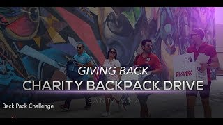 REMAX Santa Ana CA - Back to School Backpack Drive