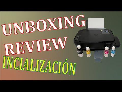 Impresora HP Ink Tank Wireles 415, 410, 310, 315 | Inicialización | Unboxing | Review | Información