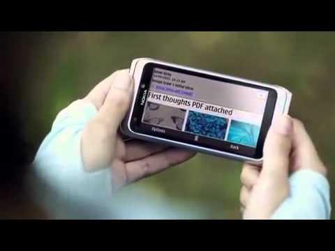 Nokia e7 commercial