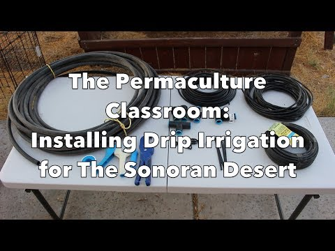 The Permaculture Classroom: Drip Irrigation for the Sonoran Desert