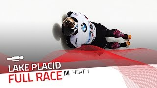 Lake Placid | BMW IBSF World Cup 2017/2018 - Men's Skeleton Heat 1 | IBSF Official