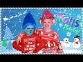 Trolls Poppy And Branch Holiday Makeup And Costumes And Trolls Jingle Bells Music Video mp3