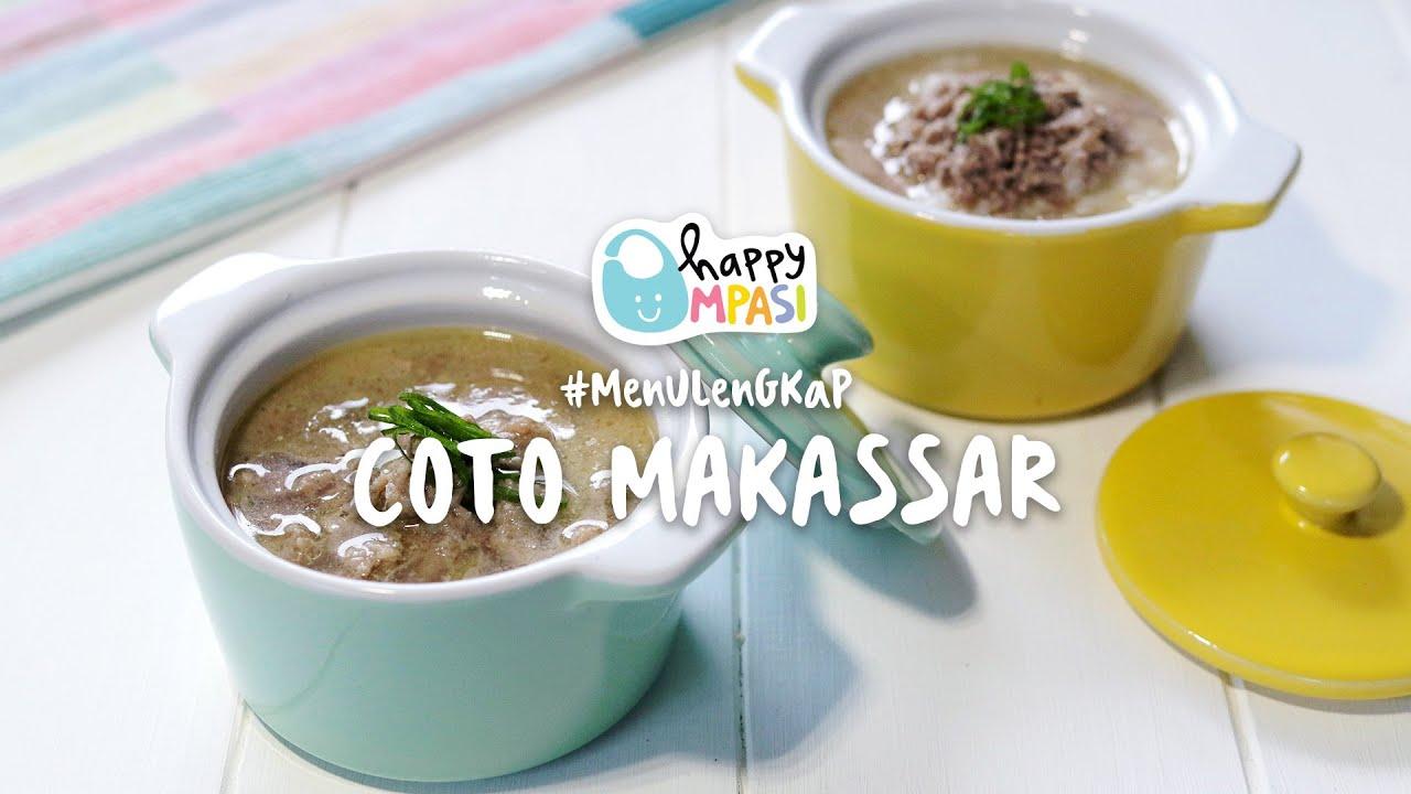 MPASI Coto Makassar | Resep Sehat Menu Lengkap | 7 Bulan