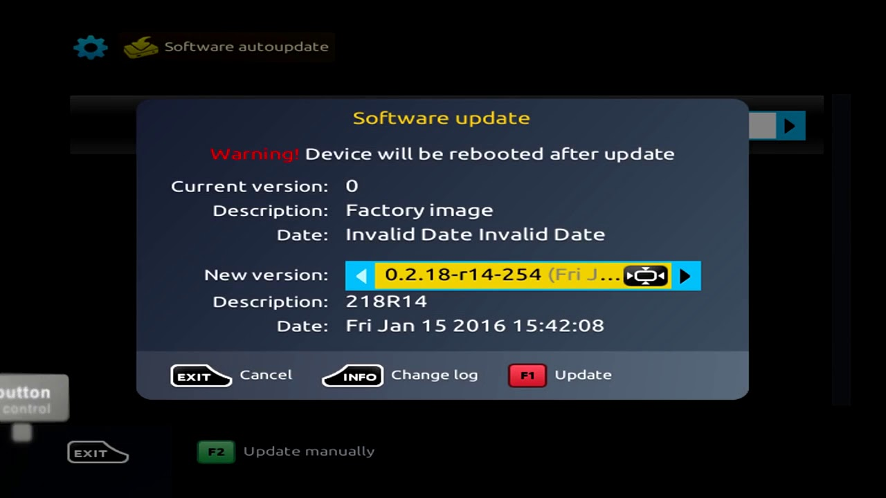 How to update firmware on MAG 250 254 256