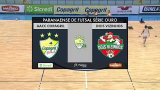 vuclip (22/03/2019) AACC Copagril Futsal x Dois Vizinhos - Paranaense Série Ouro