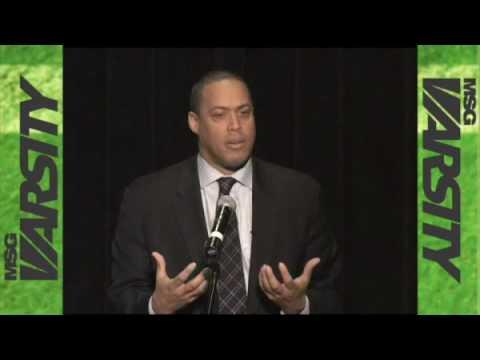 Don McPherson Speaks at All-LI Awards - Long Island - MSGVarsity.flv