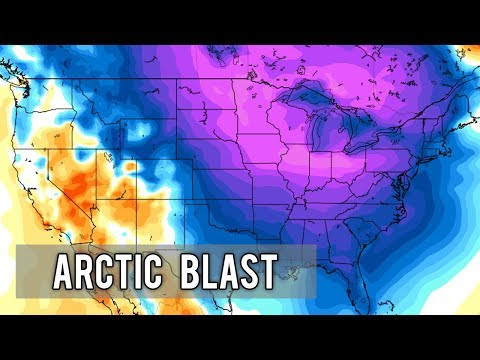 More Arctic Blasts on the way