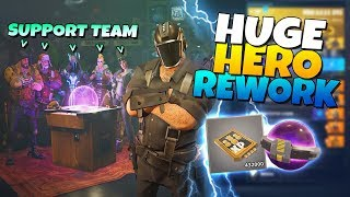 HUGE! HERO REWORK! NINJAS OP!?| Fortnite Save The World