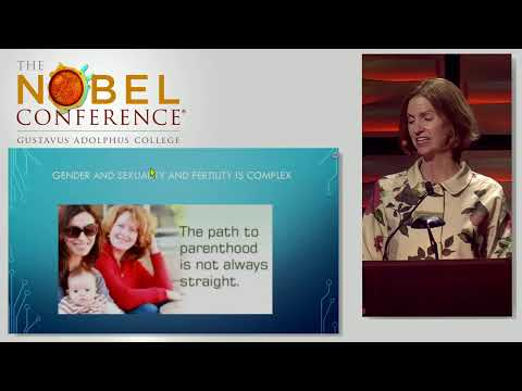 Charis Thompson, PhD presenting at Nobel Conference 53