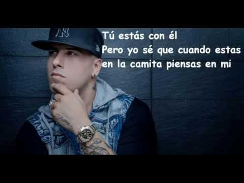 Nicky Jam Piensas En Mi Video Lyric Letra Youtube