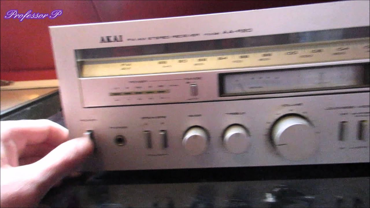 Akai AA-R20 - YouTube