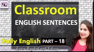 How To Talk In English With Students - PART 18 - CLASSROOM ENGLISH FOR TEACHERS AND STUDENTS