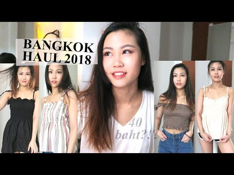 BANGKOK HAUL w/ Try ons 2018 - Platinum Fashion Mall, Prathunam Morning Market, Talad Neon