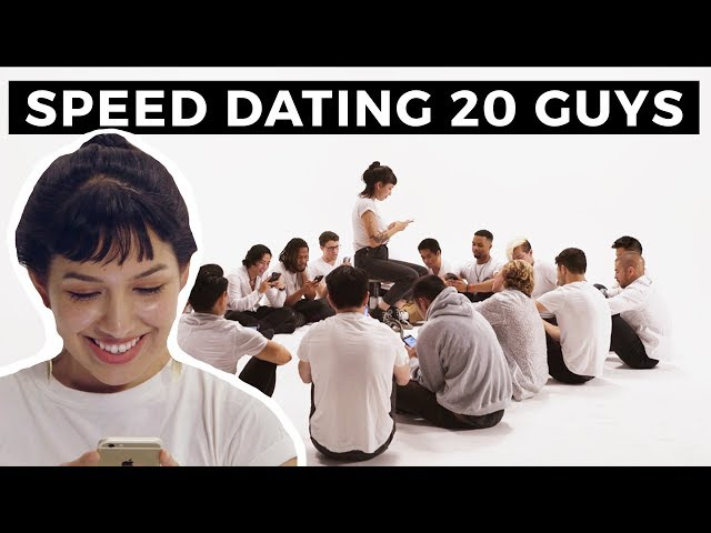 20 vs 1: Speed Dating 20 Guys | Jubilee x Solfa