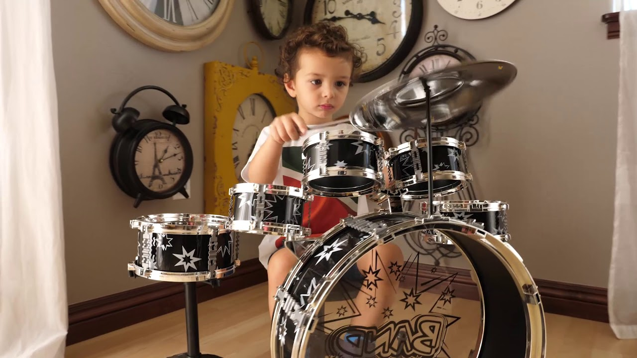 Best Choice Products Kids 11 Piece Starter Drum Set Youtube