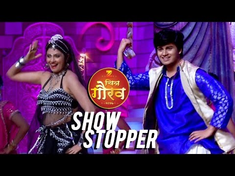 Abhinay Berde Steals The  At Zee Chitra Gaurav 2017  Dance Performances  Marathi Entertainment