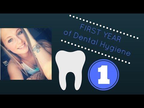 First Year of Dental Hygiene School