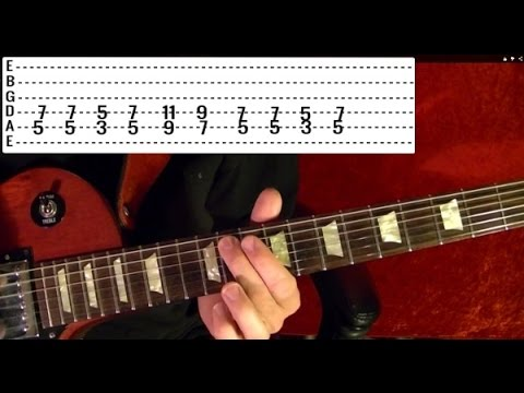 PARANOID - Black Sabbath - Guitar Lesson