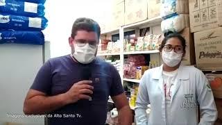 Alto Santo   Obra da reforma da área de isolamento do Hospital e Maternidade Santa Rita