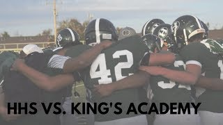 Varsity Football: HHS vs. King's Academy
