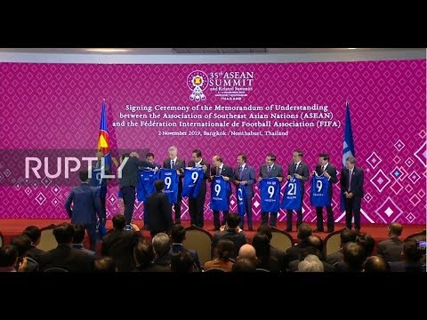 LIVE: Leaders gather for 35th ASEAN Summit in Thailand: Day 1 (ENG)
