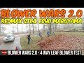 Blower Wars 2.0!! | Leaf Test - Redmax 8500 vs STIHL BR700 vs ECHO 770T vs Maruyama BL 9000 Blowers