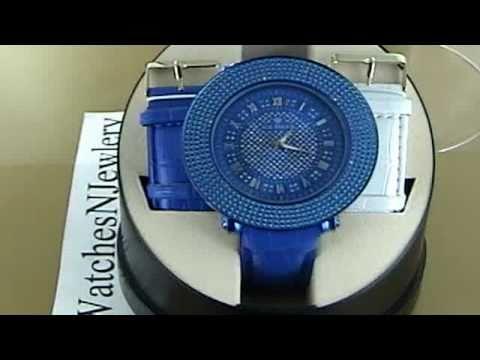 Ice Maxx Real Diamond Hip Hop Bling Watch