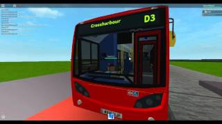 Roblox London Hackney & Limehouse bus simulator Enviro 200 Stagecoach London Route D3