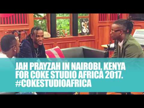 Jah Prayzah in Nairobi Kenya for Coke Studio Africa