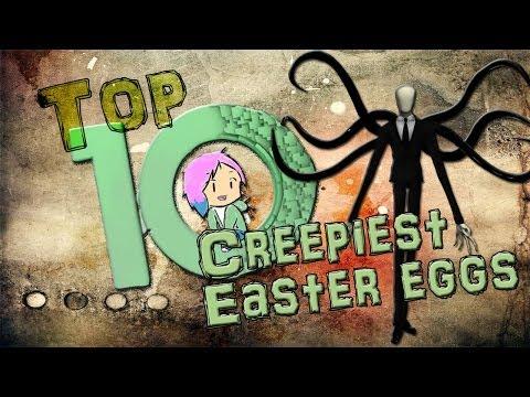 Top Ten Creepy Easter Eggs in Games