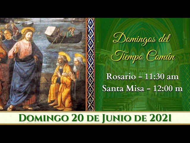 ⛪ Rosario y Santa Misa ⚜️ Domingo 20 de Junio 11:30 AM POR TUS INTENCIONES | Caballeros de la Virgen