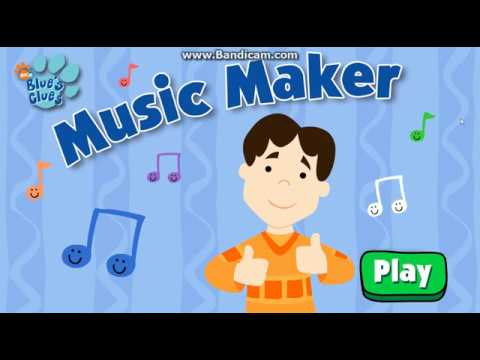 Blue's Clues - Music Maker (2003 Flash Game)