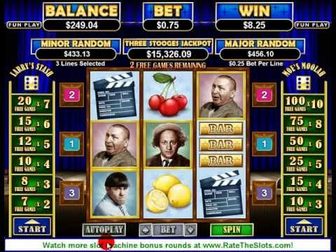 Three Stooges Slot Machine