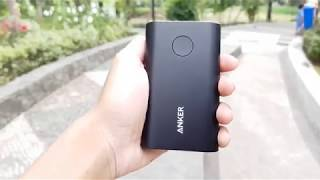 Review Powerbank ANKER Powercore+ 10050 Quick Charge 3.0