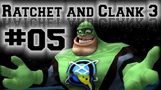 Ratchet and Clank 3 HD Trilogy #05 - Qwark Videospiel Episode 1 [PS3/720p60/German]