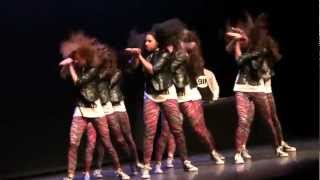 Hip Hop Netherlands National Dance Championships 2012 HipHop International TOUCH DOWN 3rd adults A