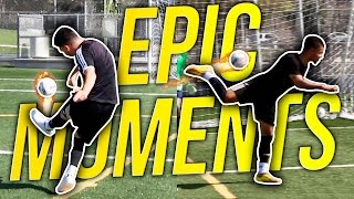 F2 RECREATE WORLD FAMOUS FOOTBALL MOVES!