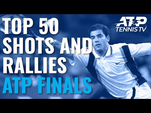 TOP 50 SHOTS & RALLIES FROM THE ATP FINALS!