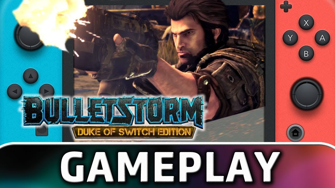 Bulletstorm: Duke of Switch Edition | First 20 Minutes on Nintendo Switch